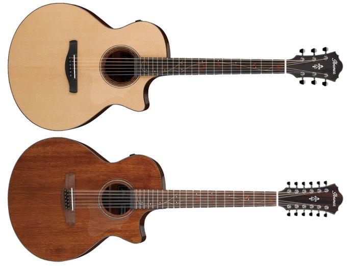 Ibanez AE series acoustics