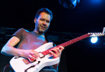 paul gilbert onstage
