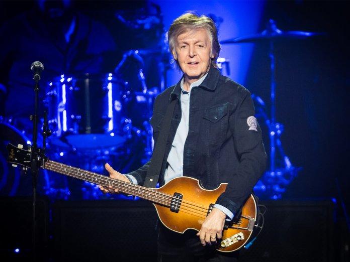 Paul McCartney Onstage