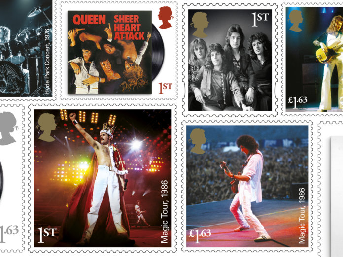 Royal Mail Queen Stamps