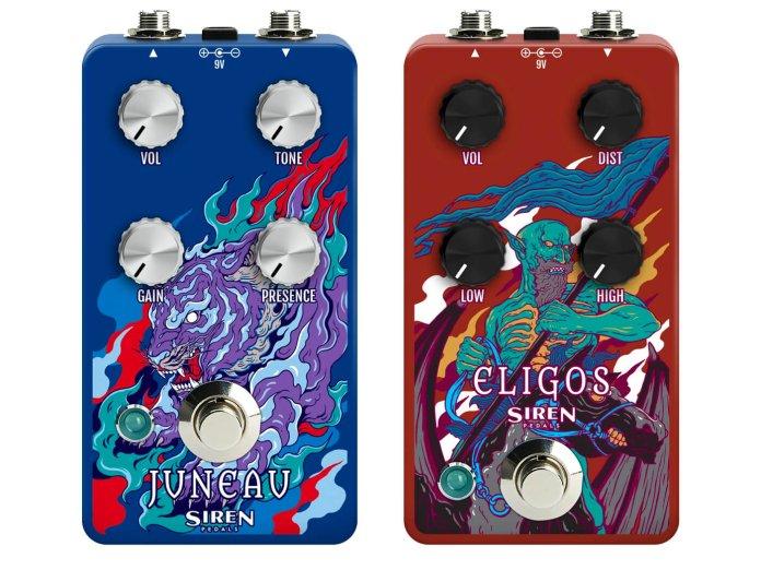 siren pedals juneau and eligos
