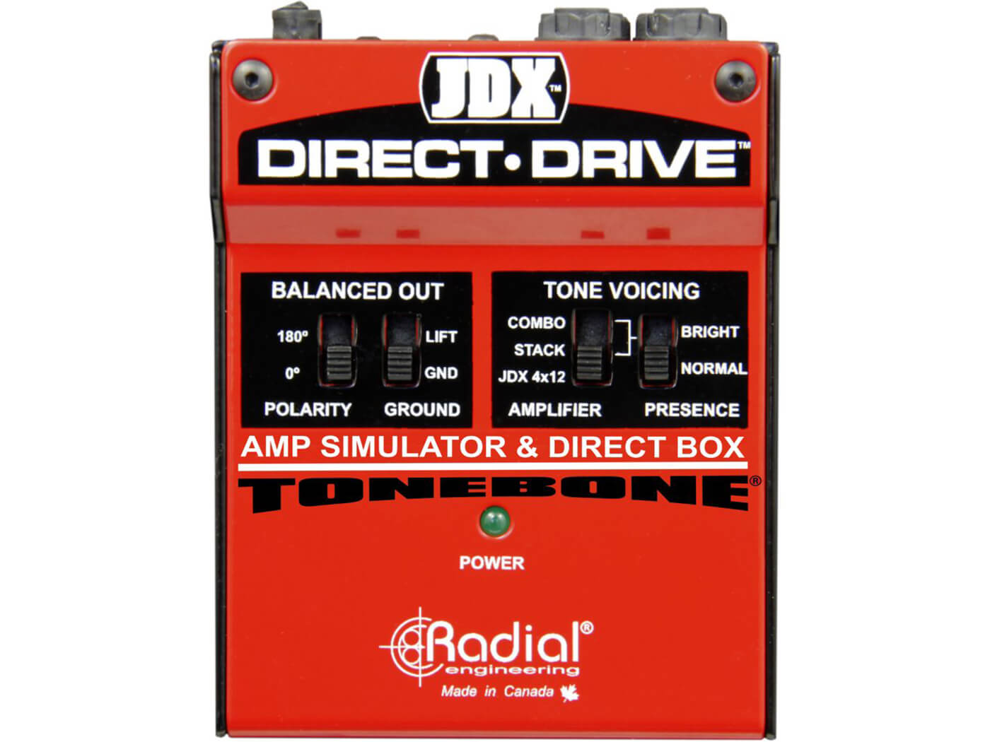 Best Direct Recording Boxes Radial Tonebone