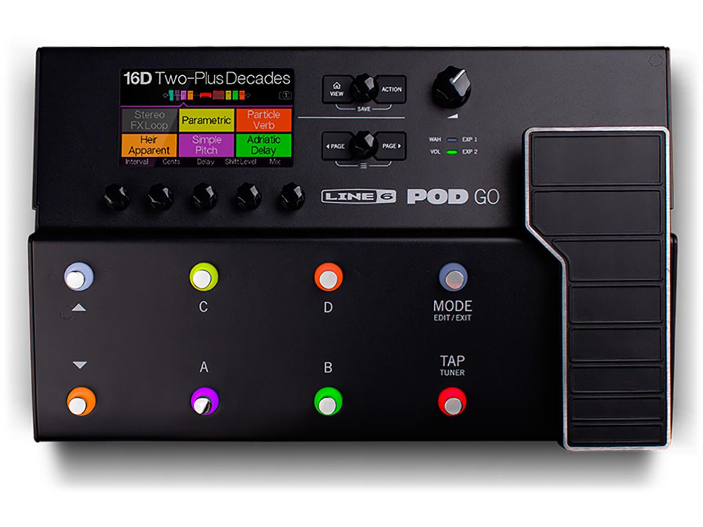 Best Direct Recording Boxes Line 6 POD GO