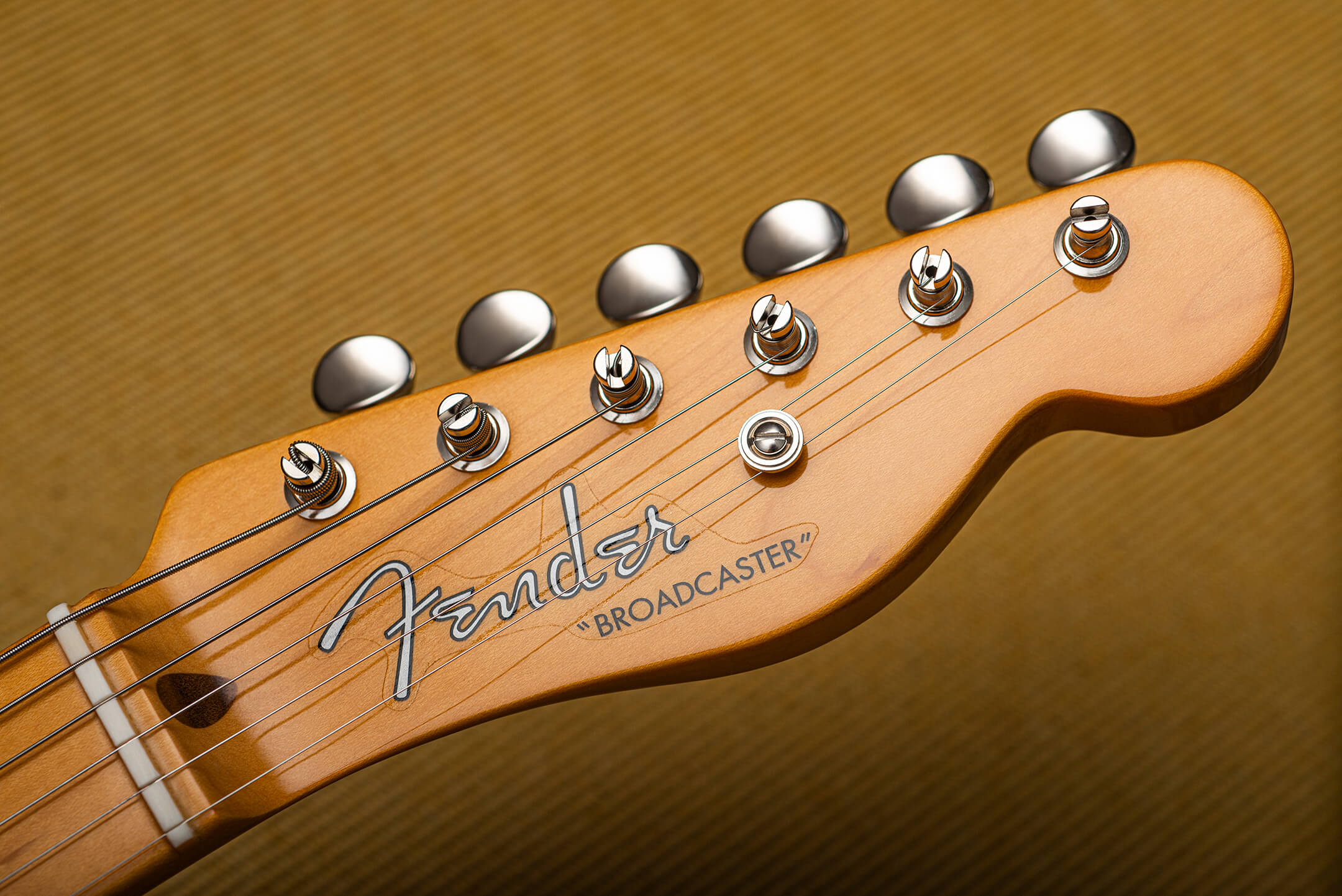 Fender 70th Anniversary Broadcaster Headstock
