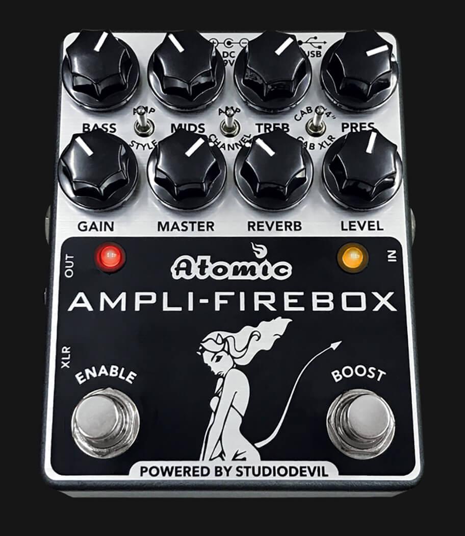 Best Direct Recording Boxes Atomic Amps Amplifier Box