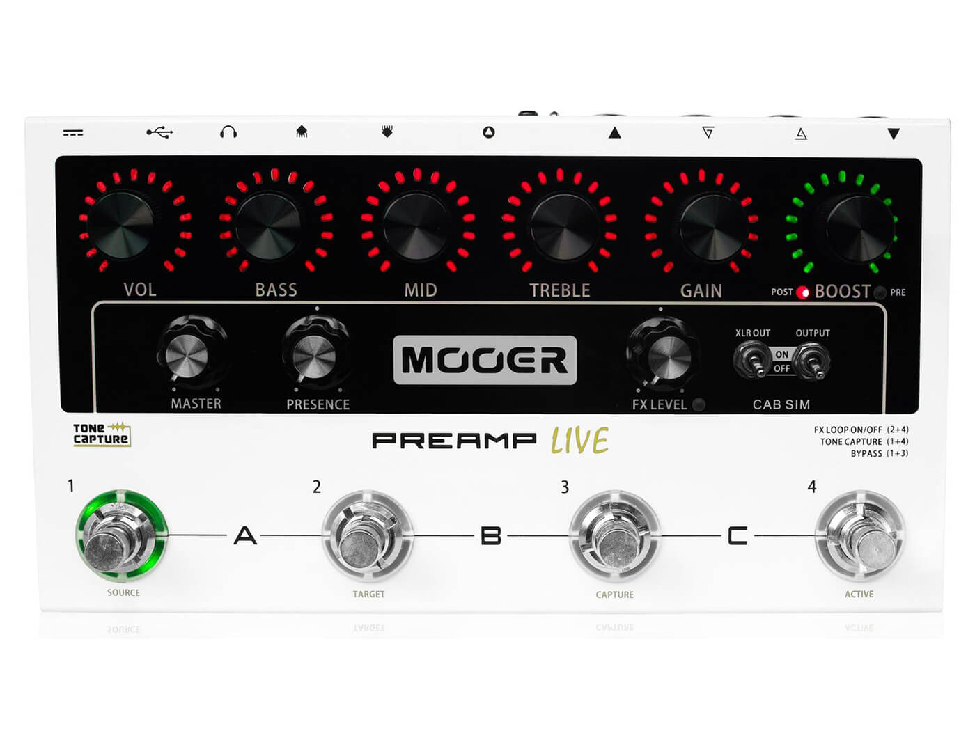 Best Direct Recording Boxes Mooer Preamp Live