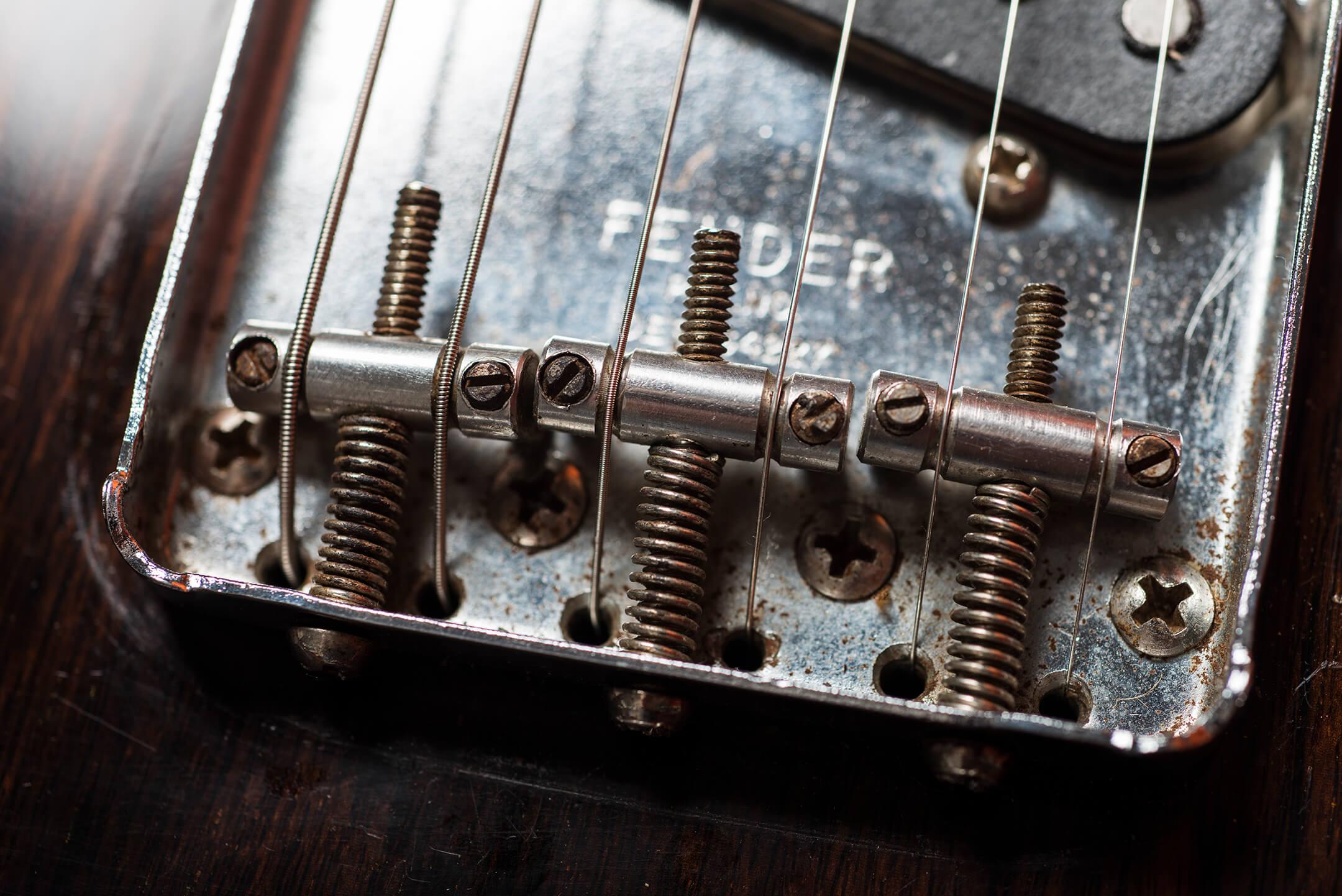 Vintage Bench Test Fender Rosewood Telecaster Bridge