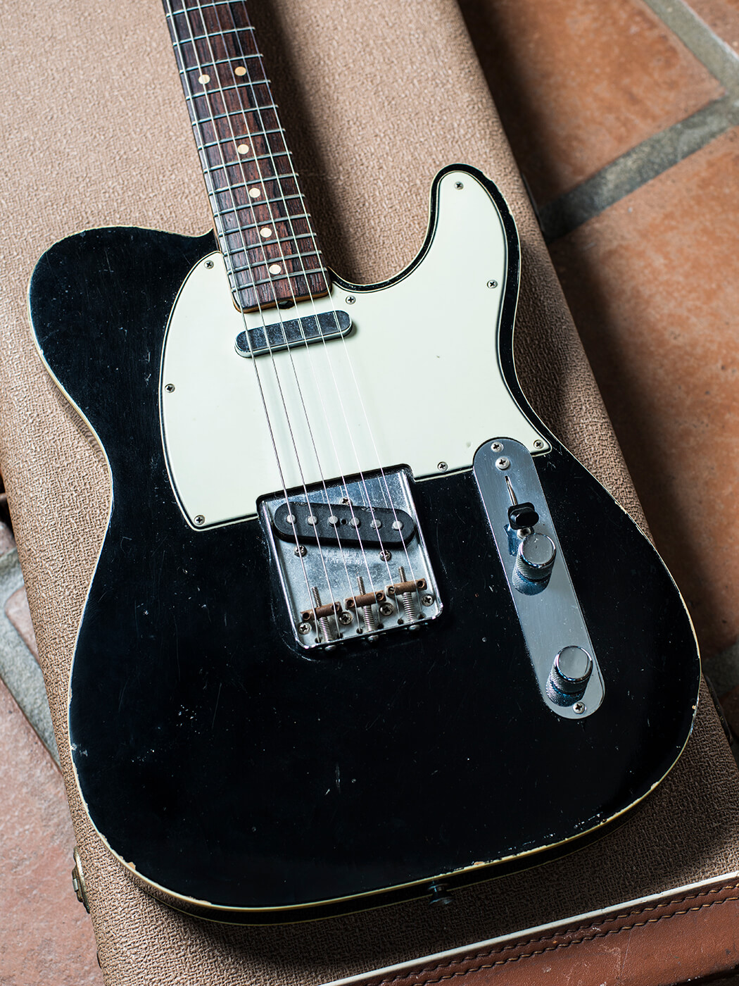 Brian Ray's factory black 1963 Custom Telecaster