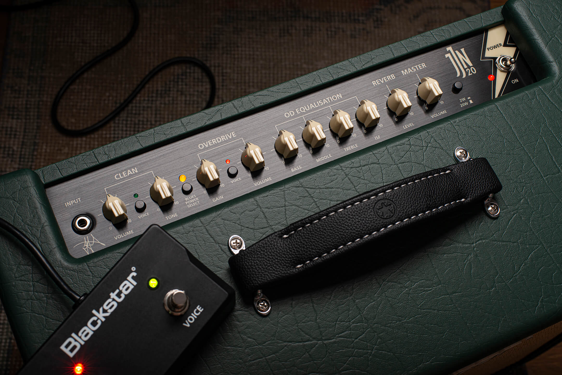 Blackstar JJN 20R Controls