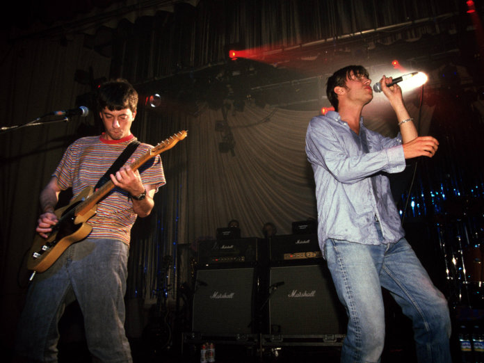 Graham Coxon & Damon Albarn of Blur