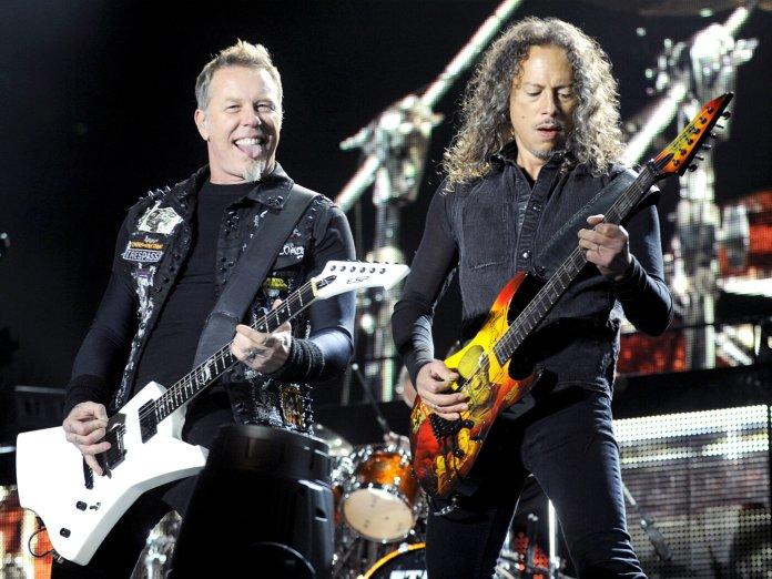 Metallica onstage