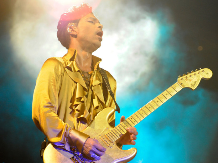 Prince with Goldfinger