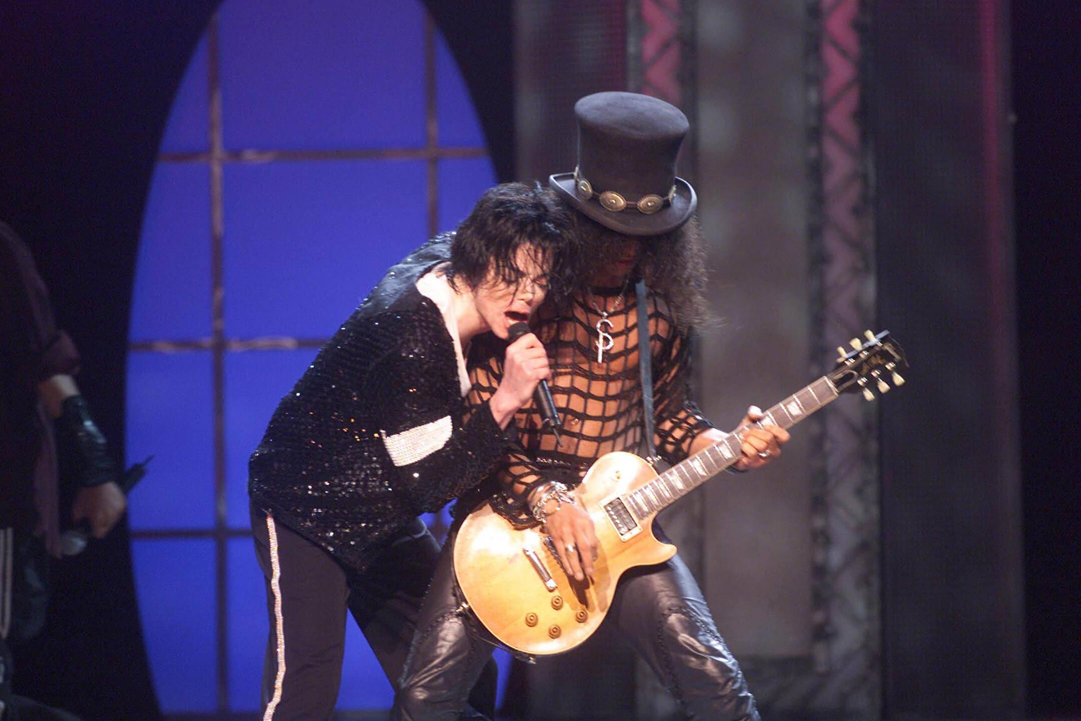 Slash w Michael Jackson