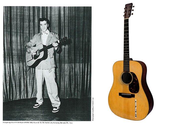 Elvis' Sun Sessions Guitar