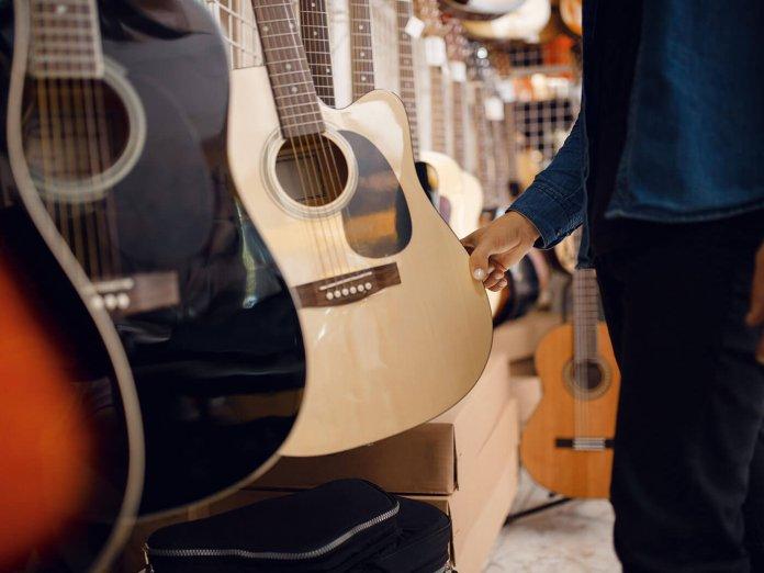 A Guitar Store