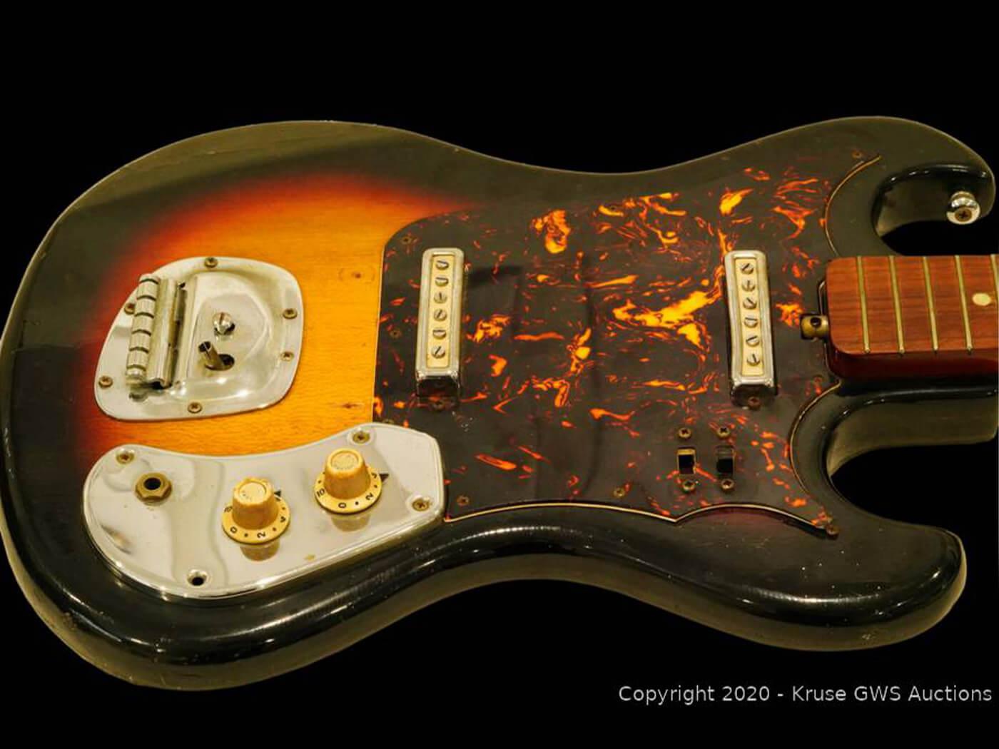 Hendrix Japanese Guitar