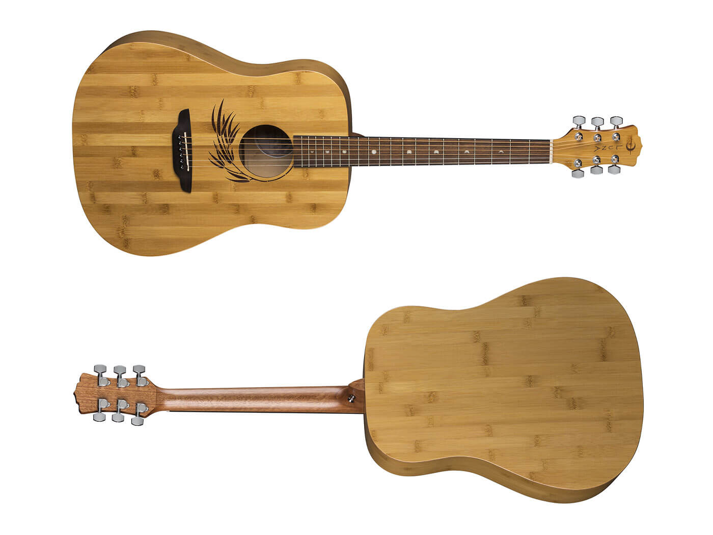 Luna Guitars Bamboo Dreadnought