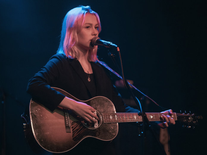 Phoebe Bridgers onstage acoustic