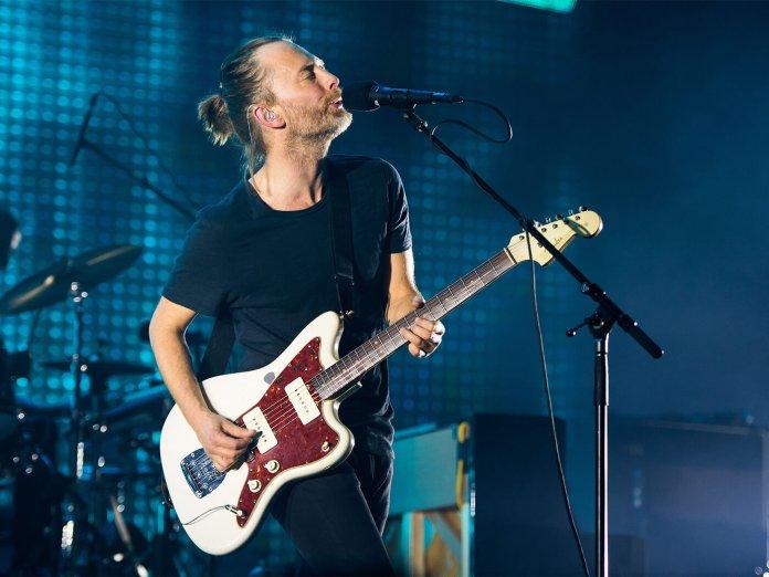 Thom Yorke Onstage