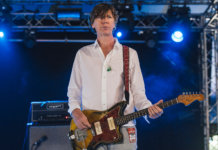Thurston Moore onstage 2015