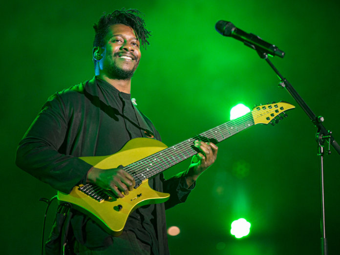 Tosin Abasi onstage