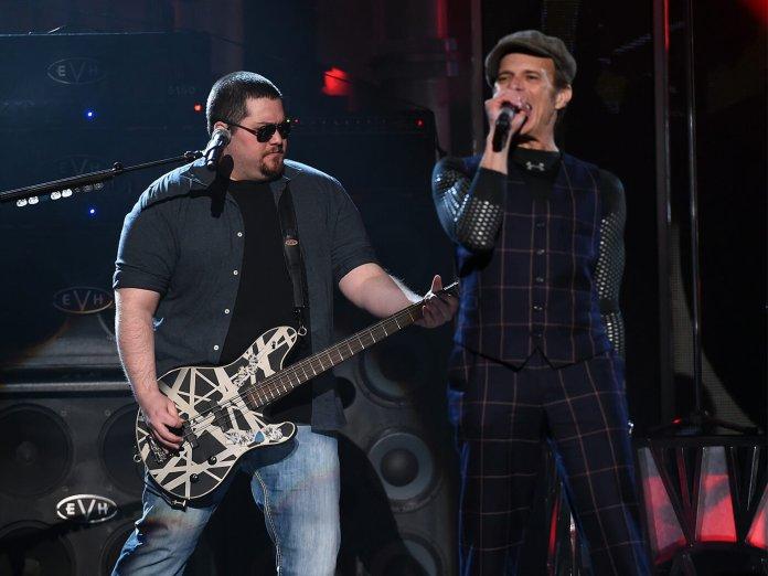Wolfgang Van Halen and David Lee Roth