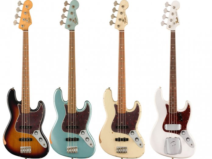 The 60th Anniversary Jazz Basses