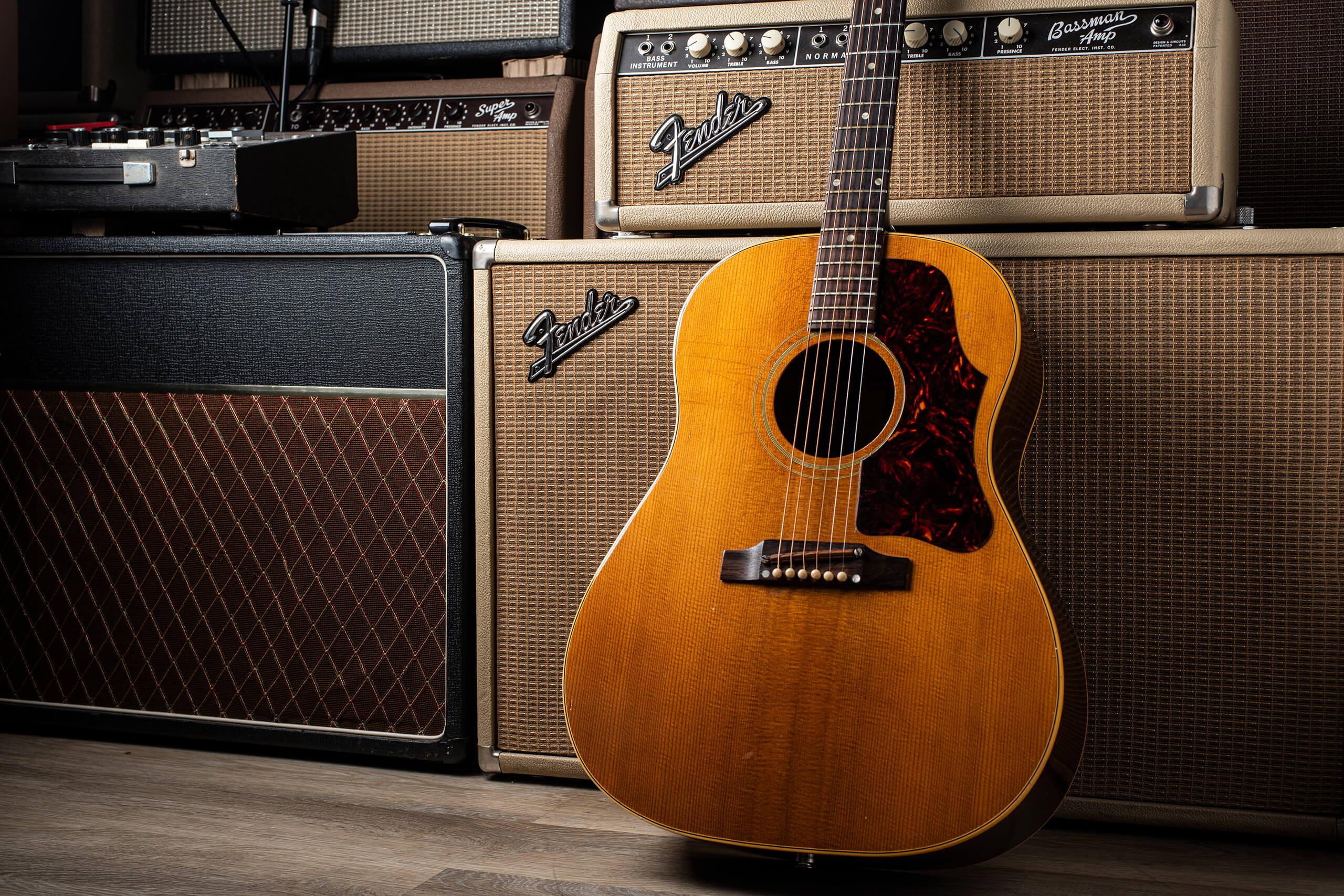 Vintage Bench Test 1963 Gibson J50