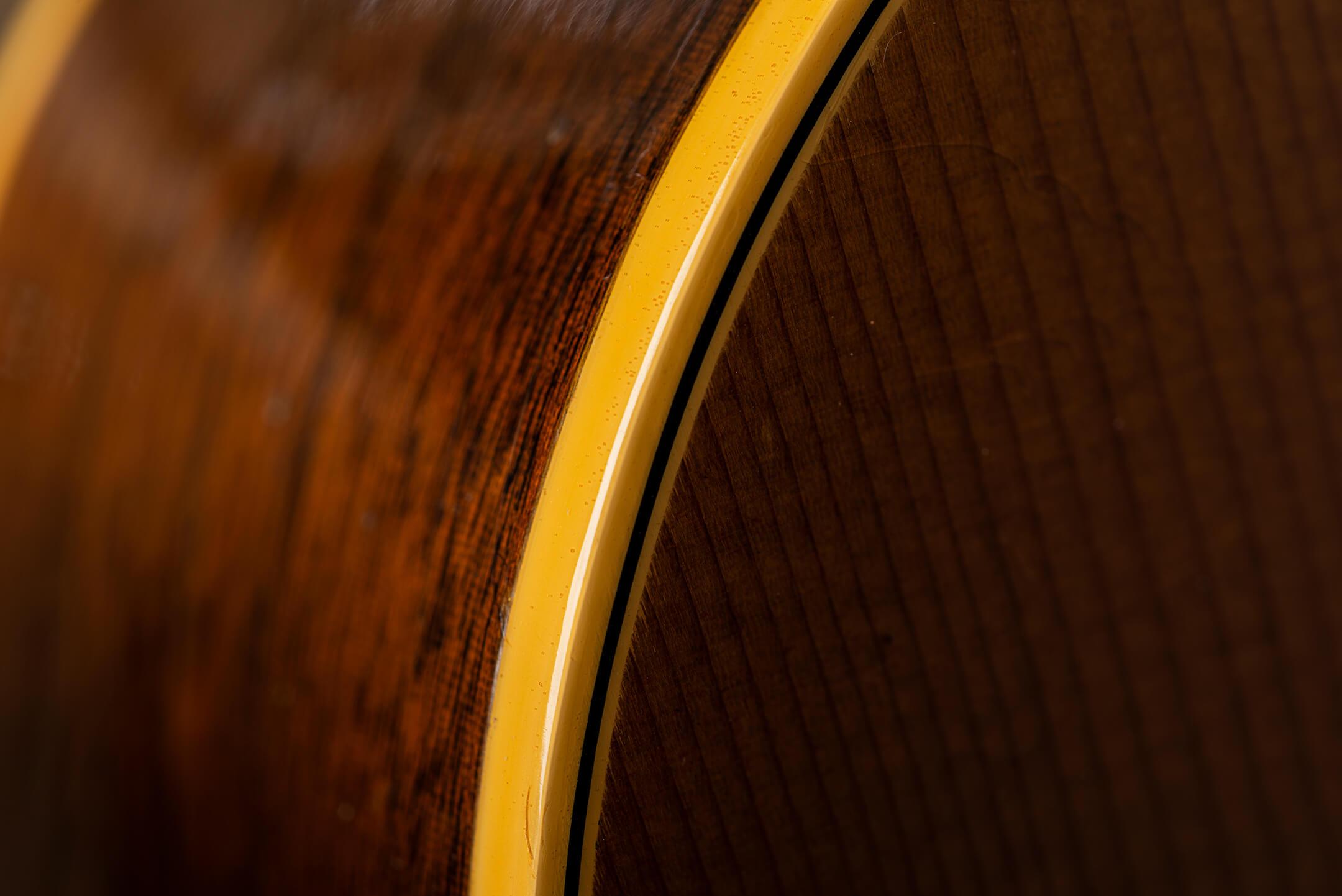 Vintage Bench Test 1963 Gibson J50 Binding