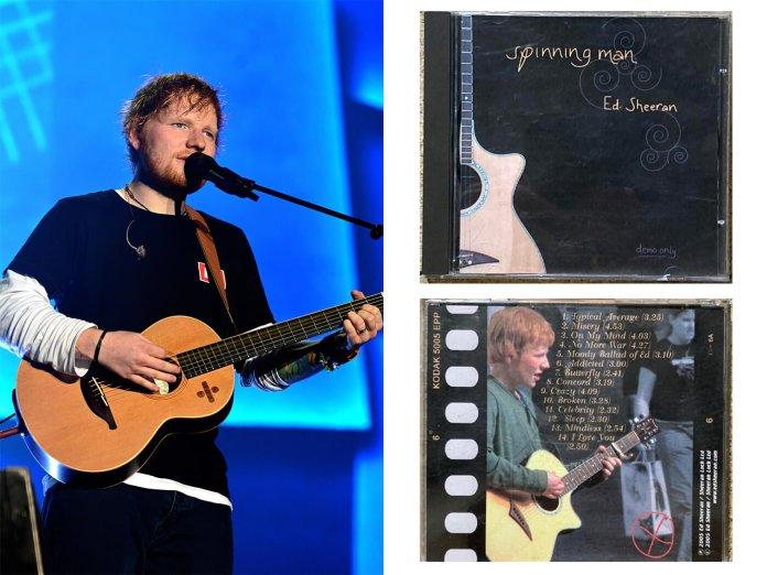 Ed Sheeran Spinning Man