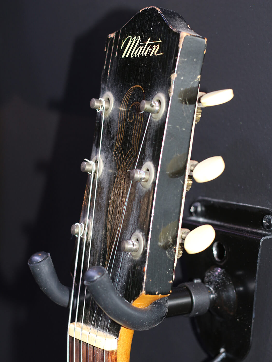 1959 Electric EG75 Supersolid Headstock