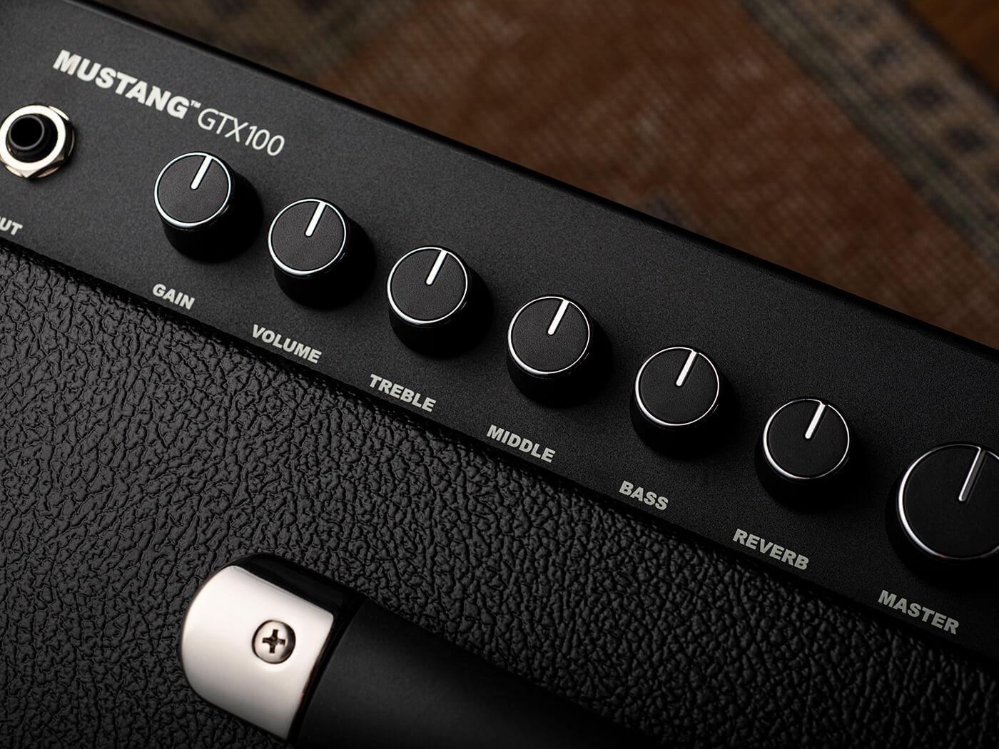 Fender Mustang GTX100 Controls