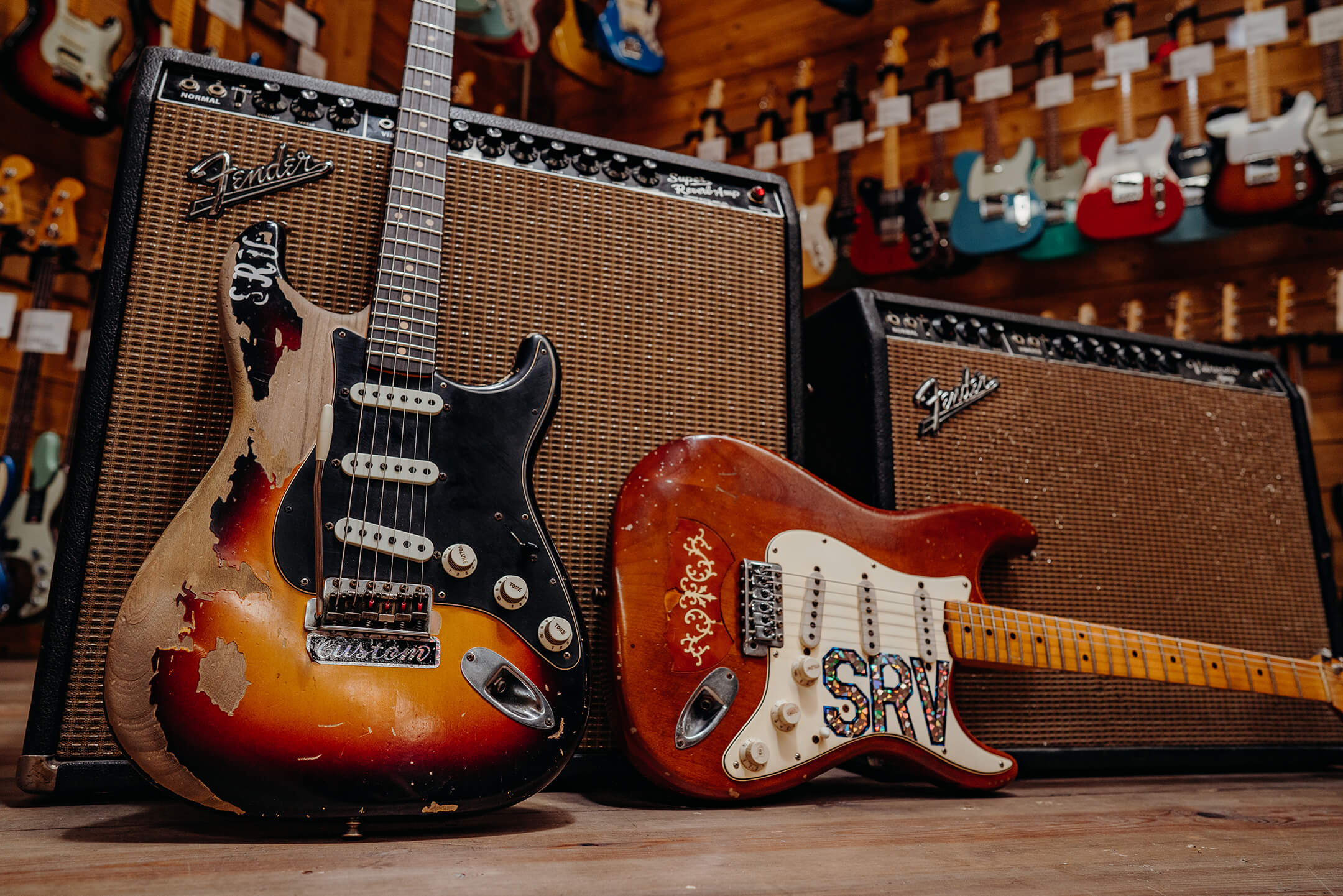 SRV Signature Stratocasters