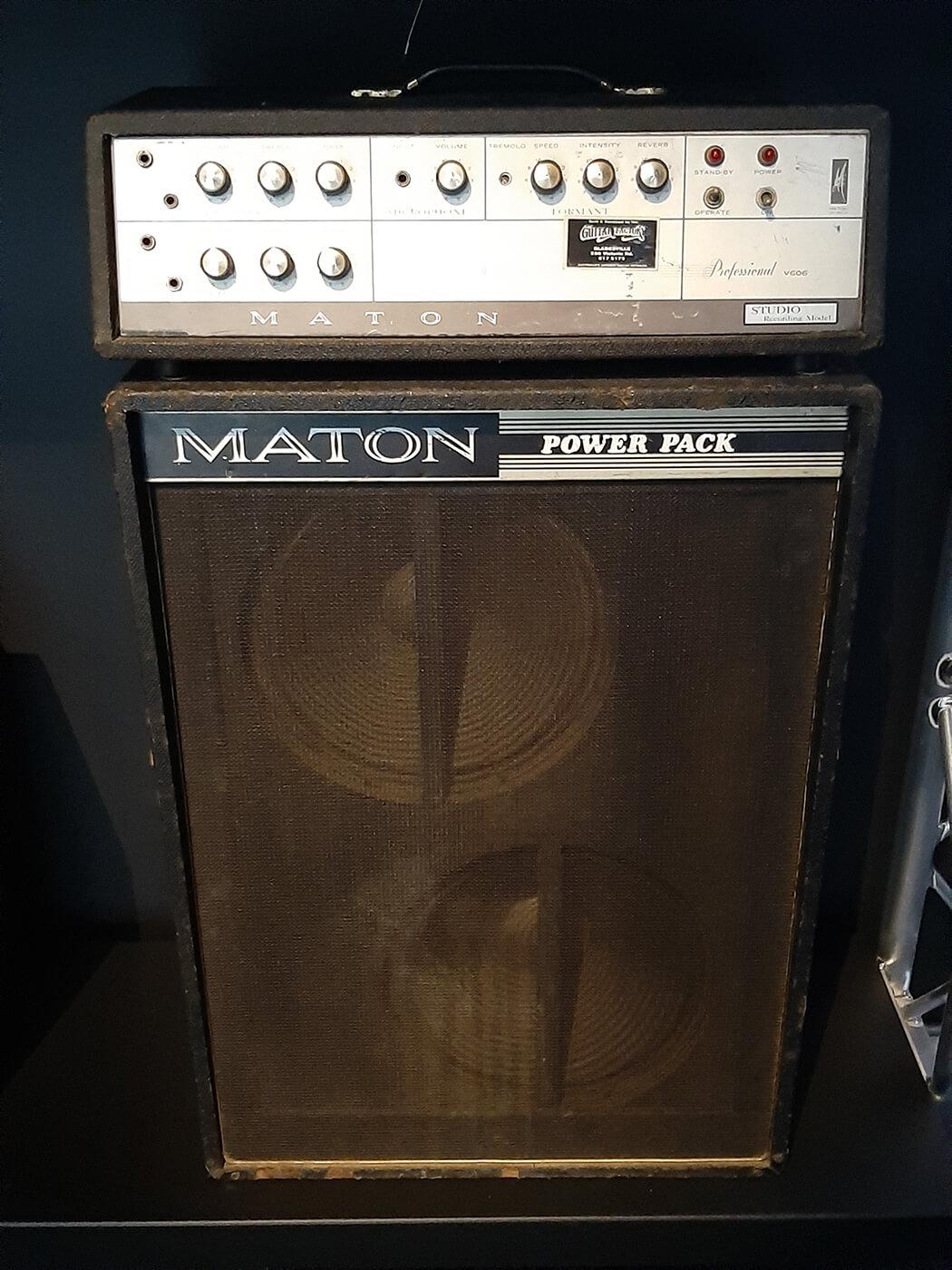 1960s Maton Professional V606