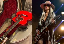 Orianthi Acoustic Gibson