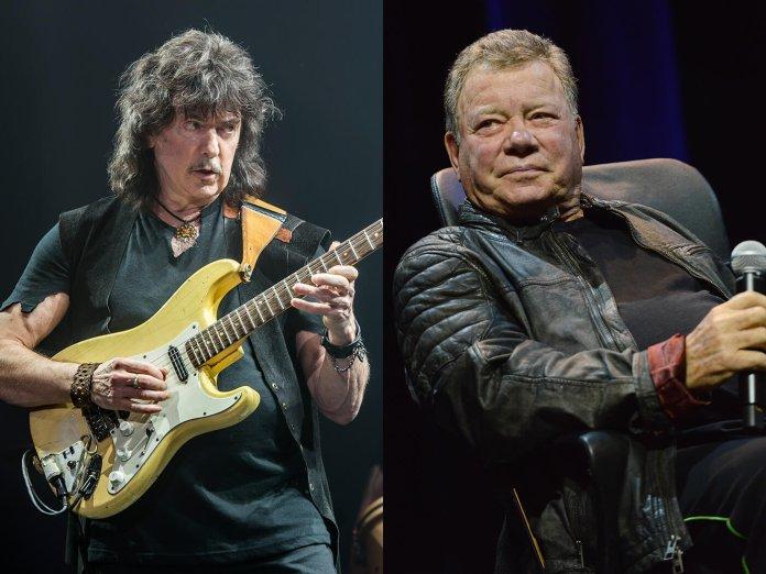 Ritchie Blackmore and William Shatner