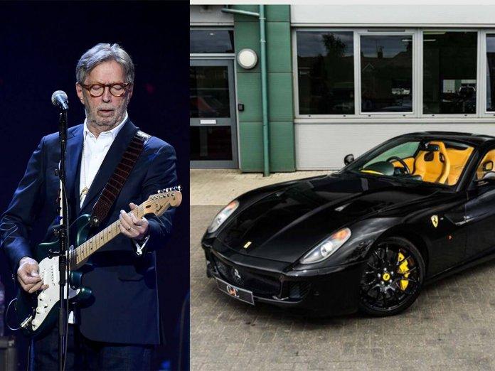 Eric Clapton & Car