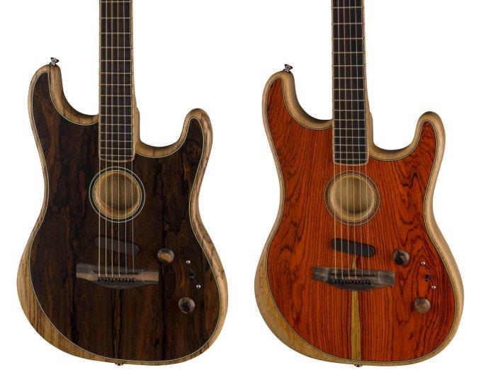 Fender Limited Edition Acoustasonic Stratocaster Ziricote and Cocobolo