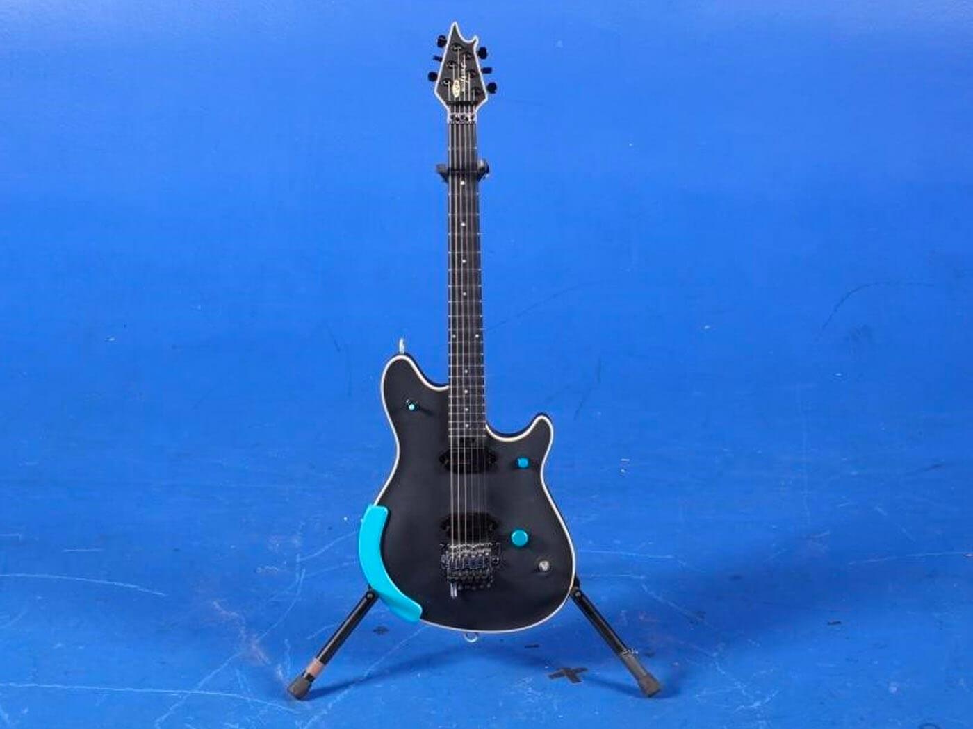 jack white evh guitar black