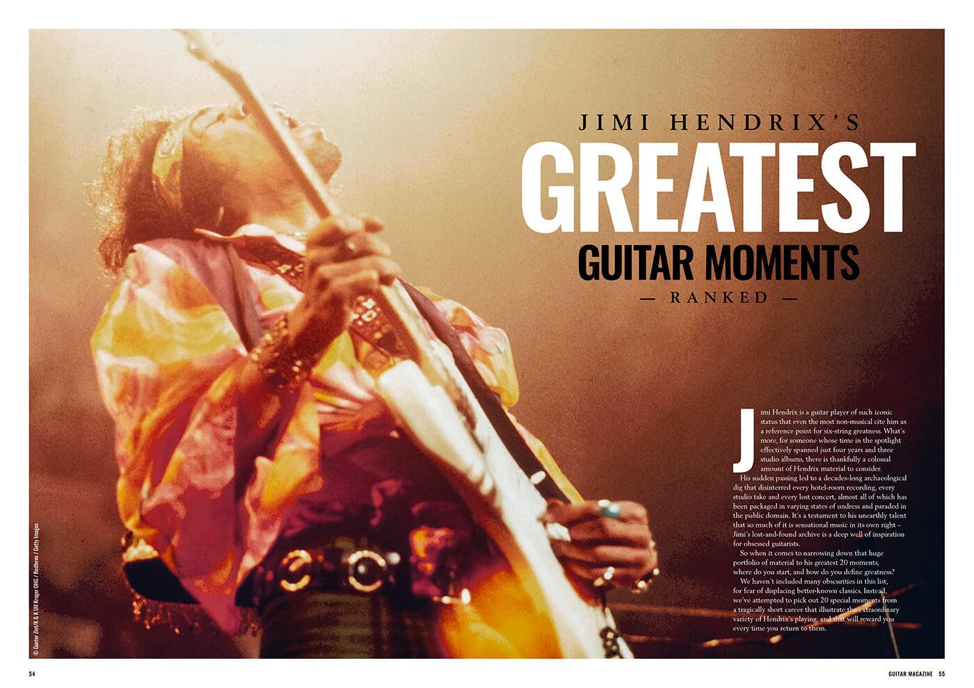 jimi hendrix guitar magazine