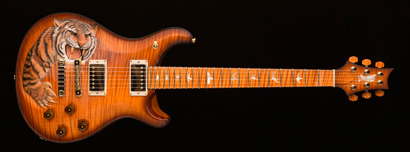 PRS Private Stock 'Snarling Tiger'
