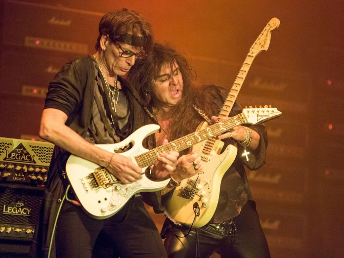 Steve Vai and Malmsteen