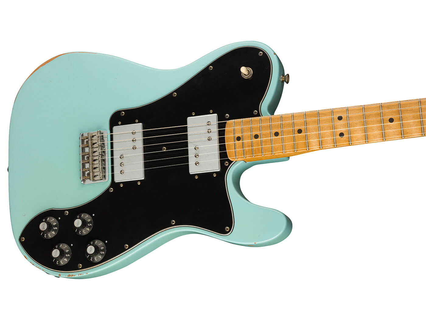 The '70s Telecaster Deluxe in Daphne Blue.