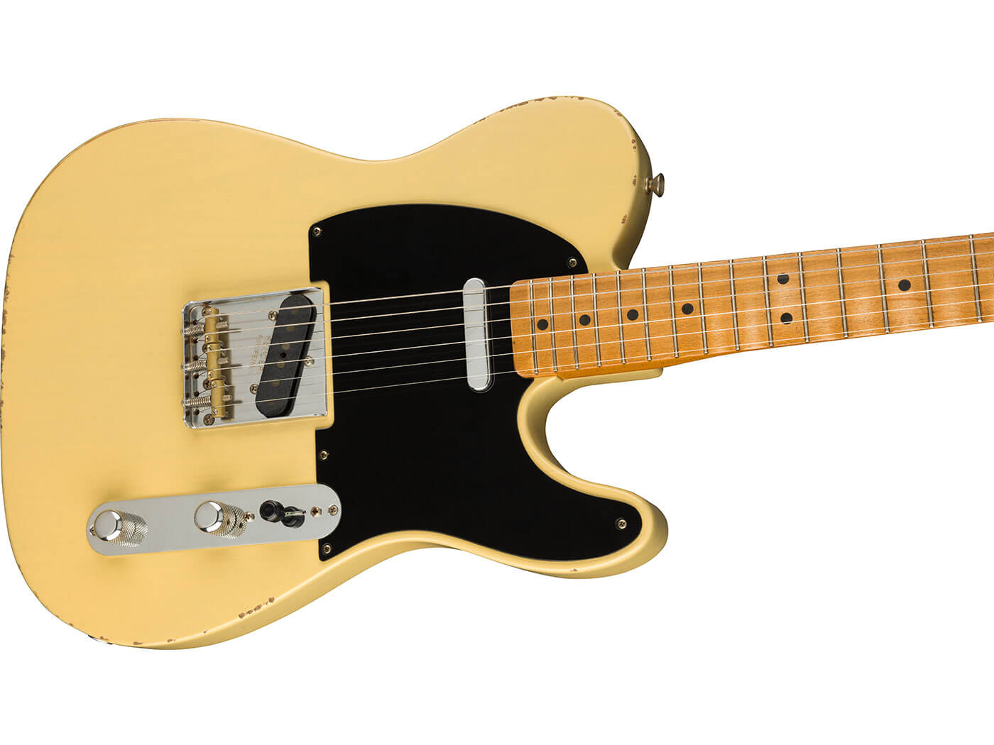 The '50s Telecaster in Vintage Blonde.