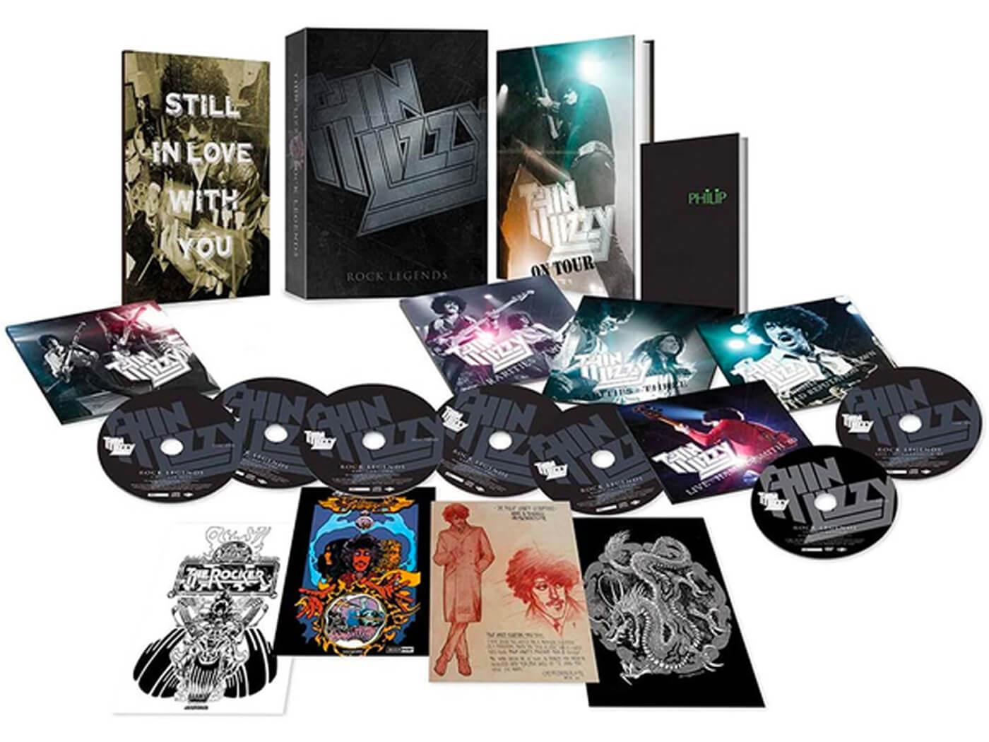 Thin Lizzy Rock Legends Box Set