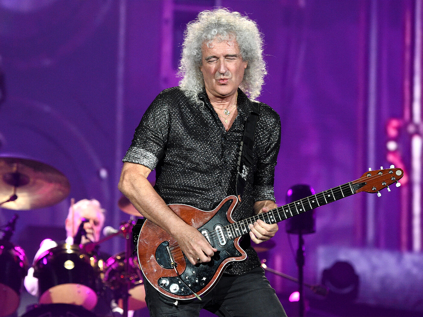 Brian May onstage