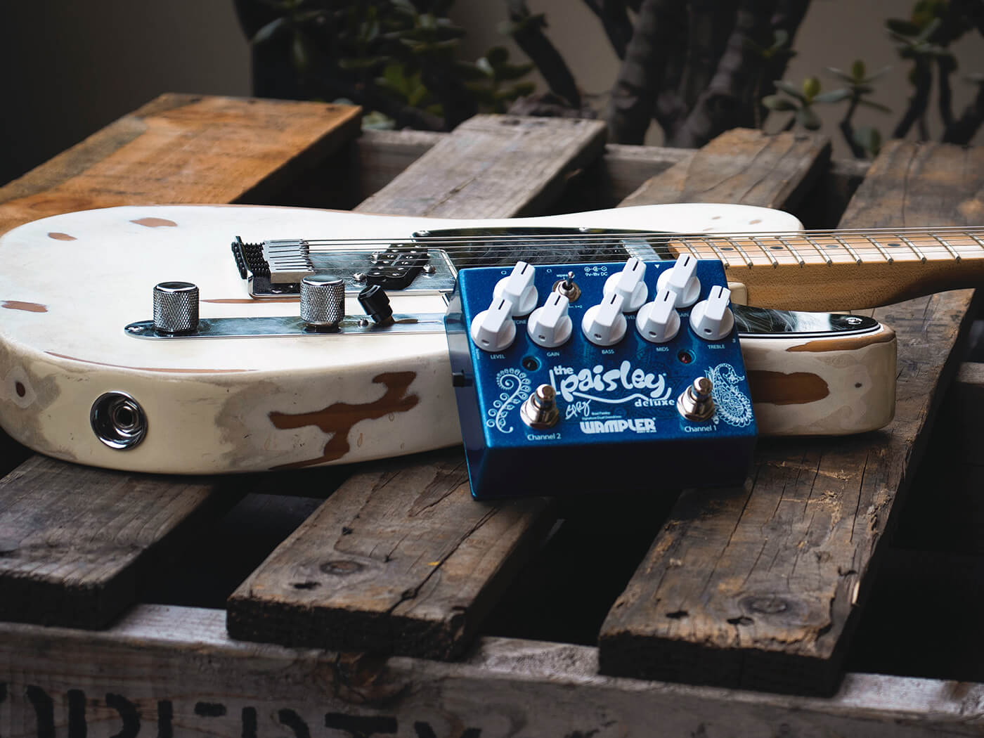 Brian Wampler of Wampler Pedals (Brad Paisley Pedal)