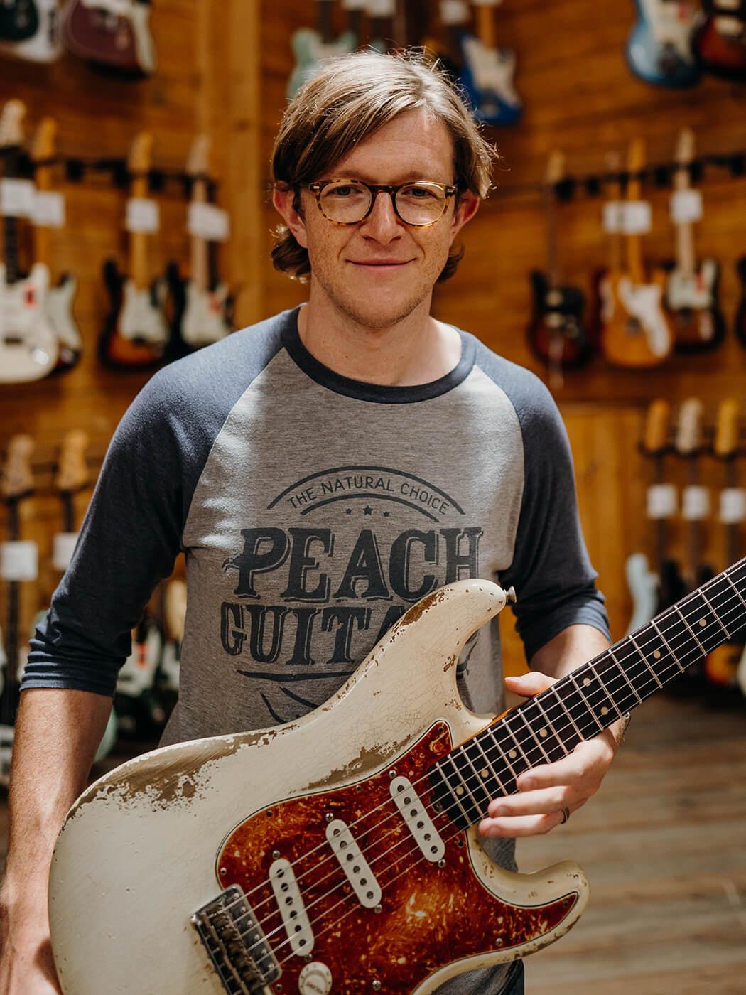 John Priest of Peach Guitars