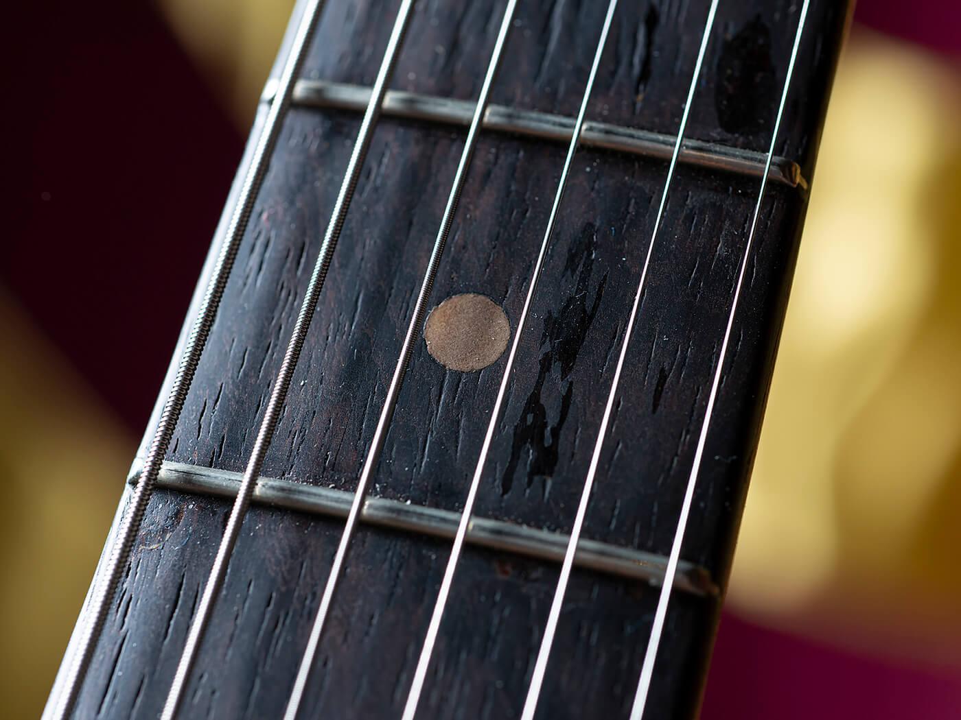 Chris Buck Stratocaster Fretboard
