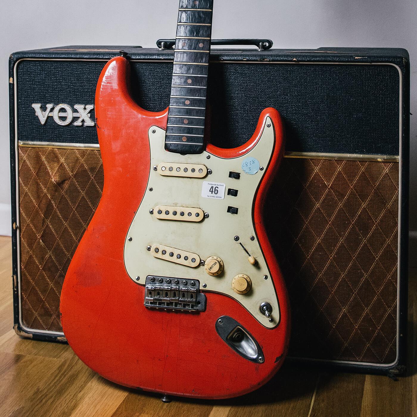 Chris Buck Stratocaster (Before)